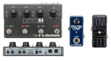 TC Electronic Ditto x4 SpectraComp BonaFide