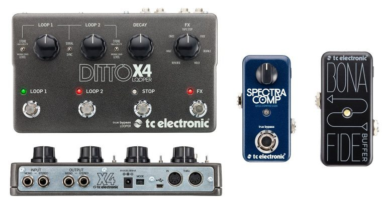TC Electronic Ditto x4 SpectraComp BonaFide