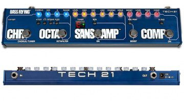 Tech21 Bass Fly Rig Front Back