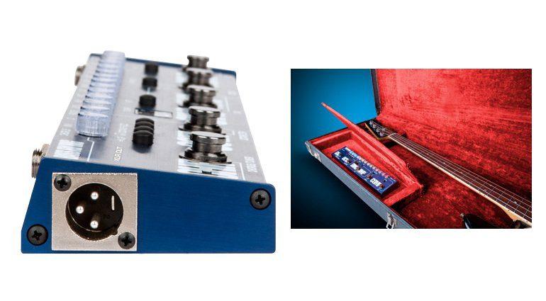 Tech21 Bass Fly Rig Seite Koffer