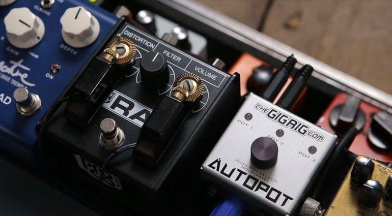 TheGigRig Autopot Kontrollzentrum Arm MIDI Remote