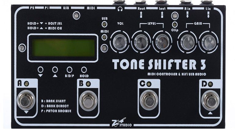 Tone Shifter Kickstarter FrontClose Up