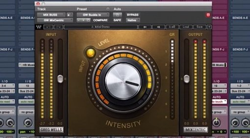 Waves Audio Greg Wells MixCentric Plug-in DAW Pro Tools