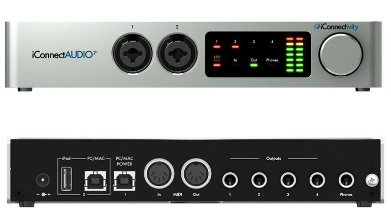 iConnectivity iConnect Audio 2 Plus USB Audio Interface Front Back