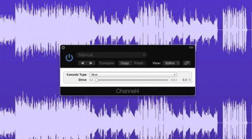 Airwindows Channel4 SSL Neve API Konsolen SImulation GUI