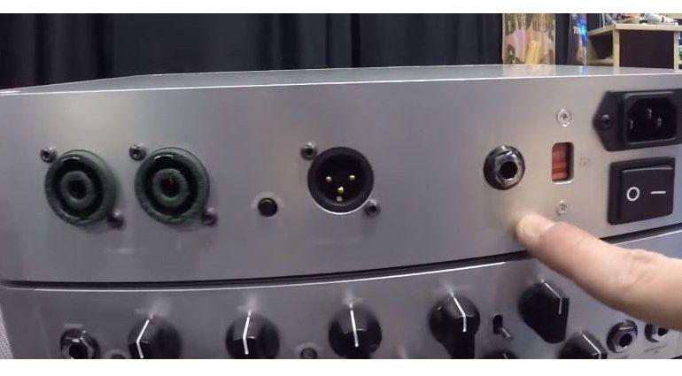 Darkglass Mictrotubes 700 Topteil Back NAMM Rückseite
