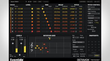 Eventide Octavox Harmonizer - MIDI-steuerbarer Harmonizer für eure DAW