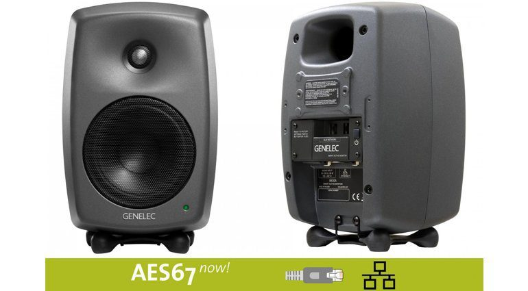Genelec 8430A IP SAM - die ersten Monitore mit Audio-over-IP Technologie