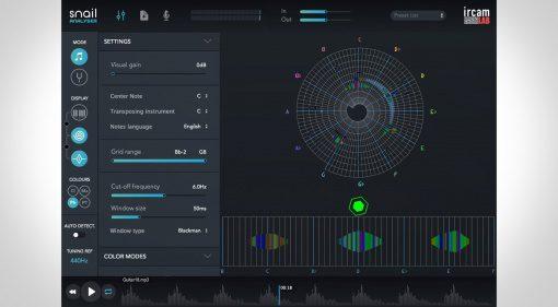 IRCAM Lab The Snail - ein Plug-in mit dem absoluten Gehör