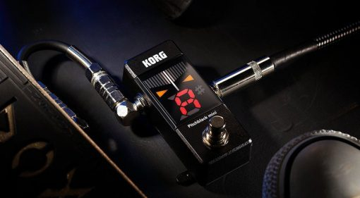 Korg Pitchblack Mini Pedal Tuner Stimmgerät Front