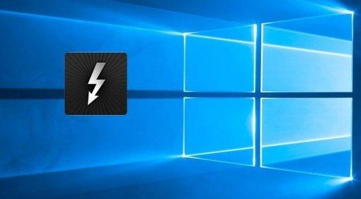 Microsoft Windows 10 Thunderbolt 3 2016