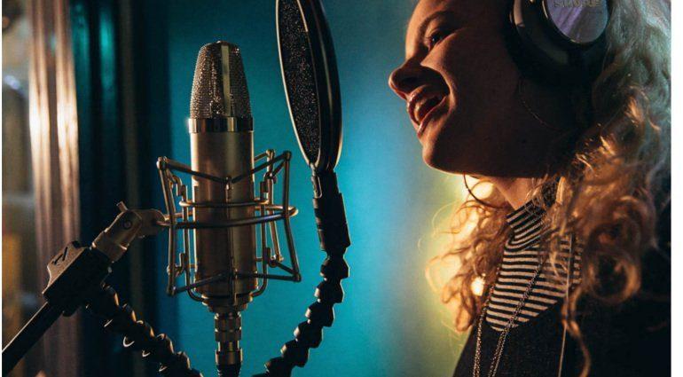 Pop Audio Filter im Studio