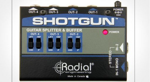 Radial Engineering Shotgun Splitter Front