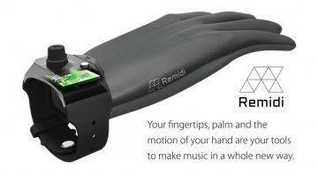 Remidi T8 MIDI Glove Handschuh Kickstarter Crwodfunding