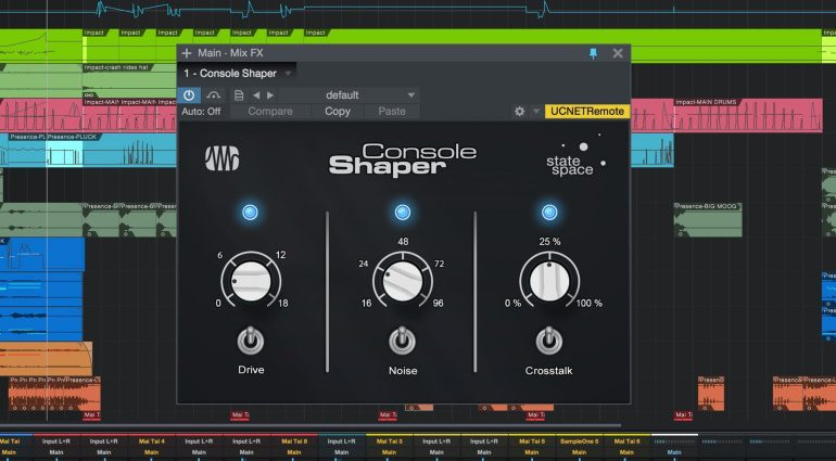 Studio One 3.2 Update Console Shaper