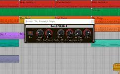 TAL Togu Audio Line Reverb-4 Plug-in GUI