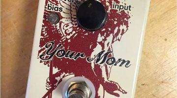 Yellowcake Your Mom Fuzz Pedal Nah