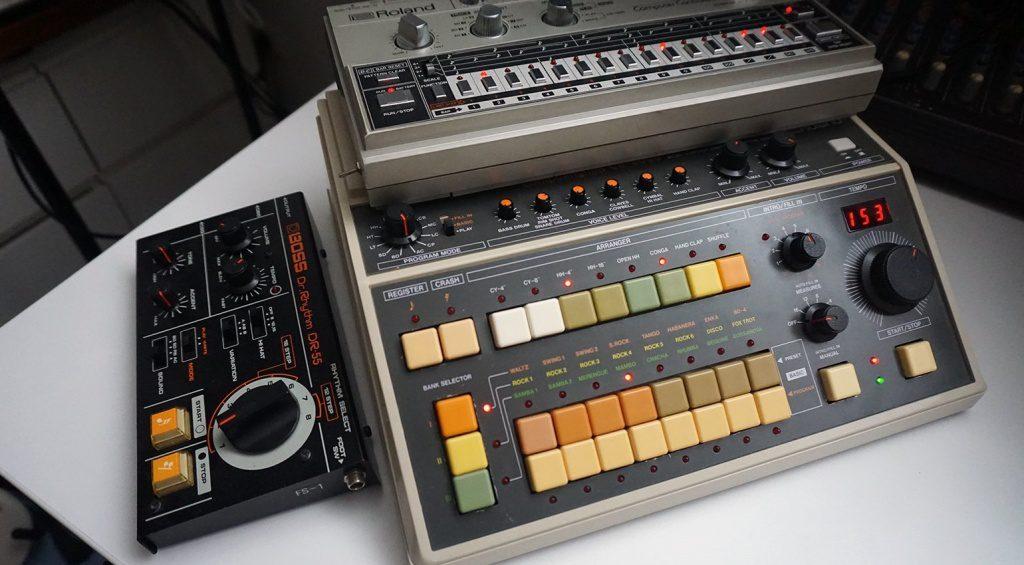 BOSS DR-55, CR-8000 und TR-606 – Roland hätte noch ein paar Expansions in petto für die TR-8!