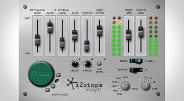 iZotope Vinyl - das Comeback des digitalen Plattenknisterns