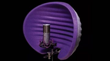 Aston Microphones Halo Reflexion Filter Front