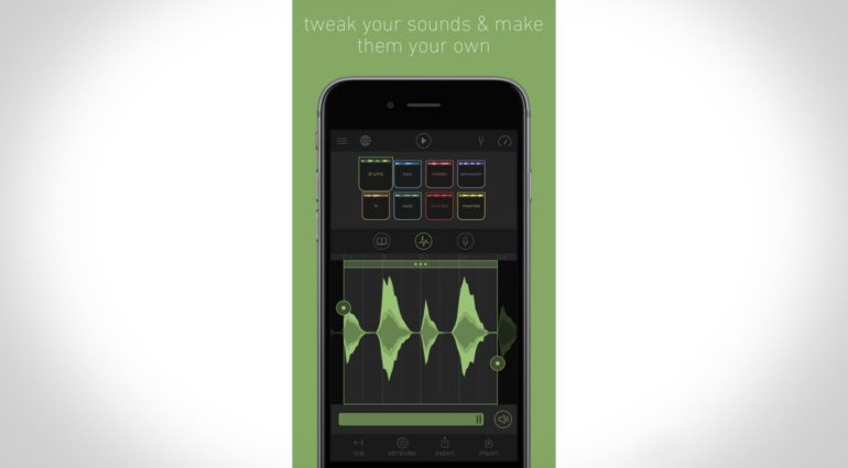 Blocs Wave - elektronische Musikproduktionsmaschine für iOS