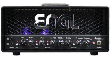 ENGL Ironbass Class D Hybrid Topteil Amp front