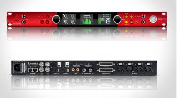 Focusrite Red 4Pre Thunderbolt Interface Front Back