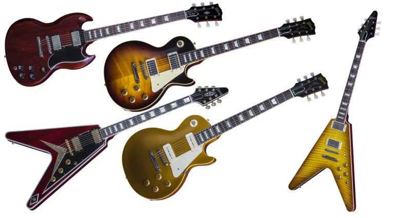 Gibson Custom 2016 Line Up