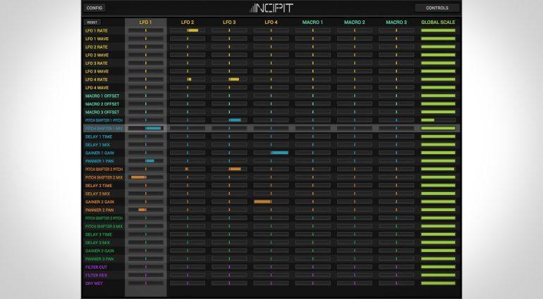 Inear Display Incipit - ein ungewöhnliches Delay mit kreativer Modulationsmatrix