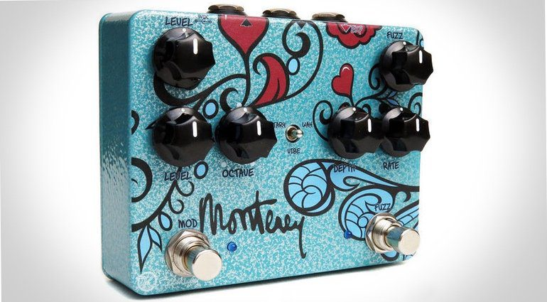 Keeley Monterey Fuzz Vibe Pedal Front