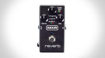 MXR Jim Dunlop M300 Reverb Pedal Front