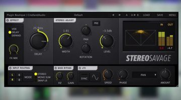 Plugin Boutique Stereo Savage Plugin GUI