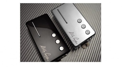 Railhammer Pickups Billy Corgan Signature Humbucker Tonabnehmer CHrome Black