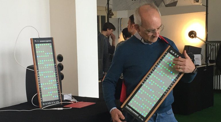 Roger Linn präsentiert sein Linnstrument