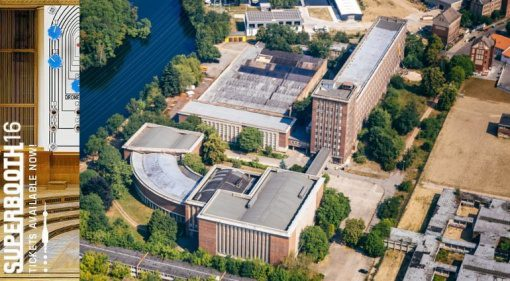 Superbooth16 Berliner Funkhaus Gelände