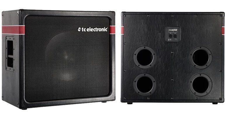 TC Electronic K-115 Slant Rückansicht