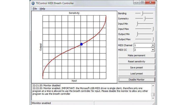 TEControl Software Control Windows GUI
