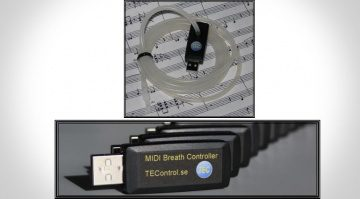 TEControl USB MIDI Breath Controll Stick