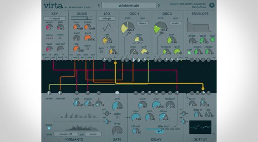 Madrona Labs Virta - ein stimmengesteuertes Synthesizer Plug-in