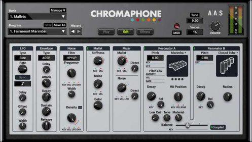 AAS chromaphone