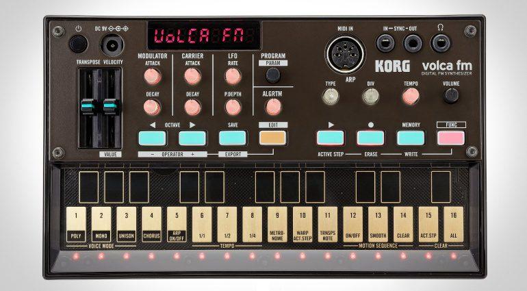 Korg Volca FM - die Volca Serie bekommt Nachwuchs
