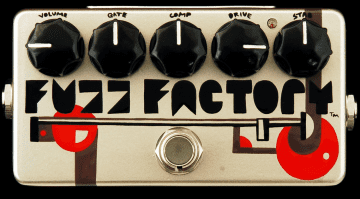 ZVex Fuzz Factory 20th Anniversary Pedal Top