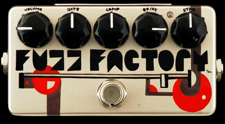 ZVex Fuzz Factory 20th Anniversary Pedal Top
