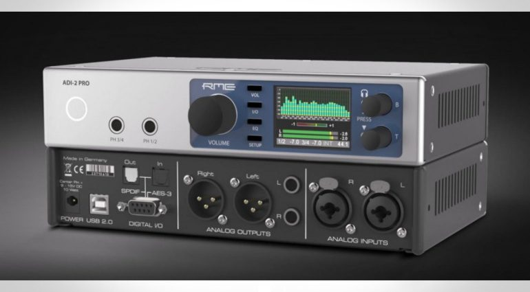 Musikmesse 2016: RME ADI-2 Pro Channel Converter - der High End Wandler