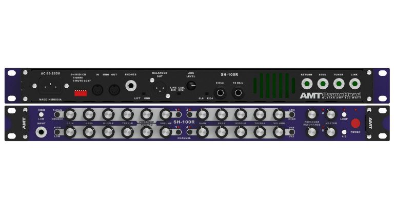 AMT SH-100R STonehead Rack Amp Front Back