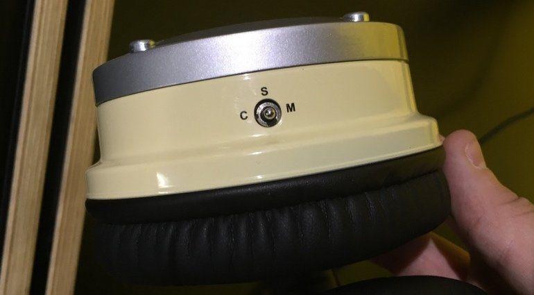 Avantone MixPhone MP1 Mono Stereo Hebel