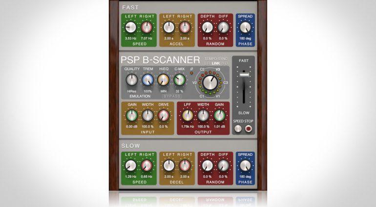 PSP Audioware B-Scanner - emuliert den klassischen Sound alter Vintage Orgeln