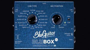 BluGuitar BluBox Pedal Front