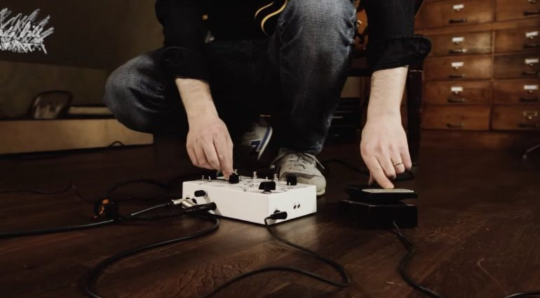 Clouds Hill Floppy Disc Echo Pedal Delay Expression