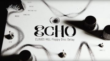 Clouds Hill Floppy Disc Echo Pedal Delay Front